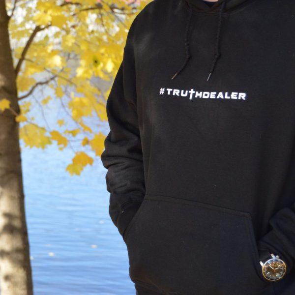 KJV Prepper truthdealer-hoodie-black