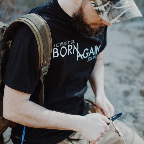 BORN AGAIN Short sleeve Christian Shirt