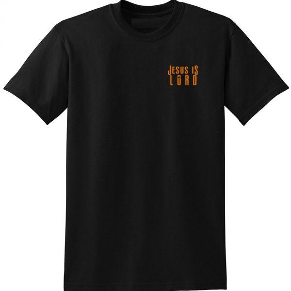 Christian shirt worn to warn Jesus is Lord