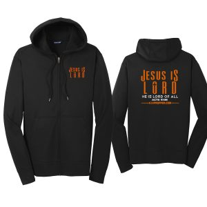 Christian store Jesus is Lord pullover hoodie