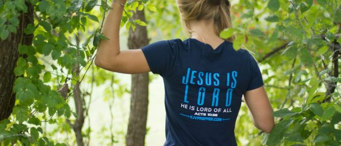 Christian store Jesus is Lord KJV Prepper apparel