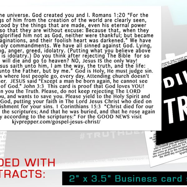 gospel tracts Christian ministry