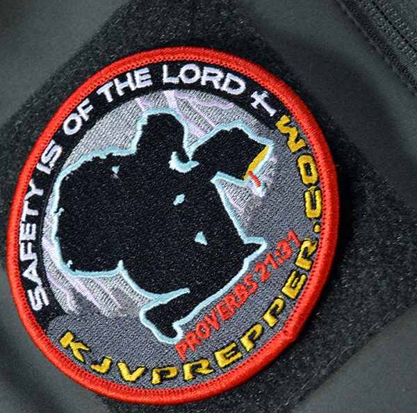 Christian patch Bible KJV Prepper tactical morale bushcraft biker patch Jesus