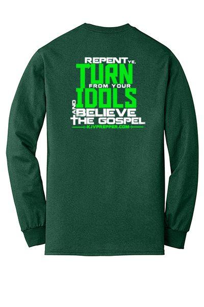 King James Bible clothing maker Upstate NY small business Christian screenprinting