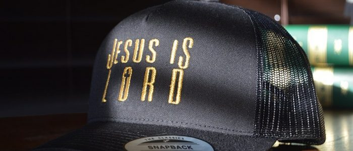 Christian store Jesus Christ is Lord KJV Bible apparel